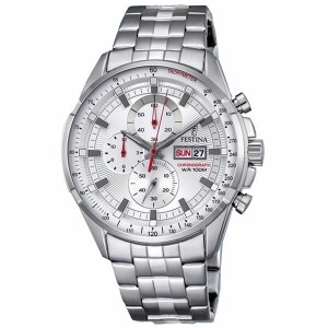 Reloj Festina acero crono sumergible 100 metros - F6844/2