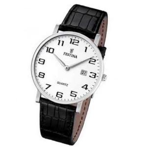 Reloj Festina correa piel para hombre - F16476/1