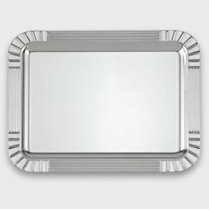 Bandeja plata rectangular diseño -