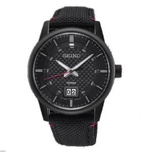Reloj Seiko Neo Sport rojo y negro para hombre -