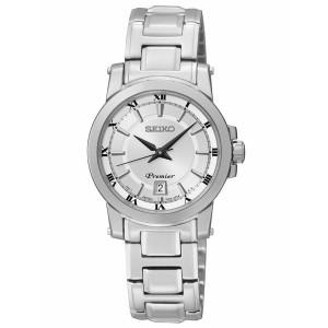 Reloj mujer Seiko clásico Premier brazalete acero -