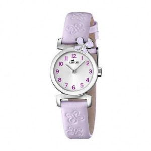 Reloj Lotus correa lila para niña -