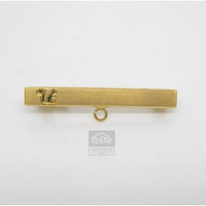 Alfiler oro amarillo para bebé - 361052-031,50