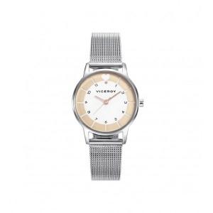 Reloj niña de acero para Comunión con regalo de un altavoz inalámbrico - 42364-94