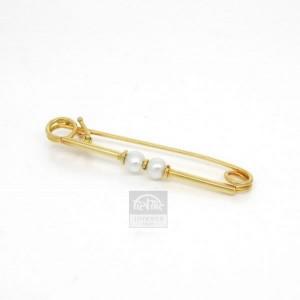 Alfiler oro amarillo y perlas cultivadas - 4717791,70