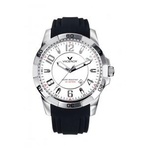 Reloj Viceroy acero sumergible 100 m. -