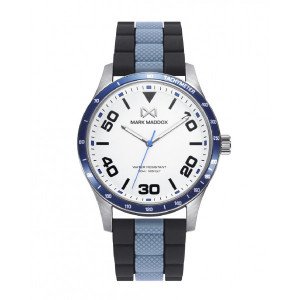 Reloj acero y aluminio correa caucho - HC7135-04