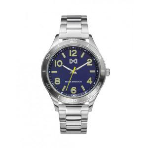 Reloj acero y aluminio esfera azul - HM7135-34