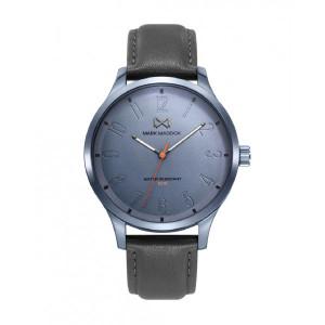 Reloj acero azul correa gris - HC7137-36