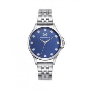 Reloj mujer esfera azul acero - MM7140-36