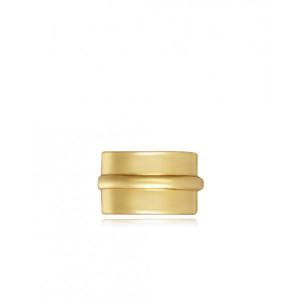 Earcuff liso plata recubierta oro - 5103E100-06