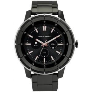 Smartwatch Viceroy brazalete acero gris -