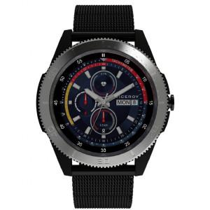 Smartwatch Viceroy malla milanesa negra -