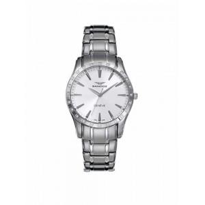 Reloj Sandoz acero y brillantes - 81306-80