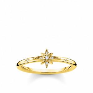 Anillo mini estrellab plata oro -