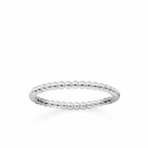 Anillo fino dots plata - TR2122-001-12-52