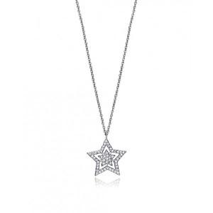 Colgante estrella circonita plata - 7117C000-38
