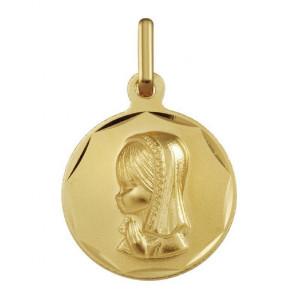 Medalla de Comunión Virgen Niña -
