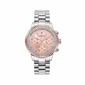 Reloj multifunción brazalete acero bicolor - 471068-97