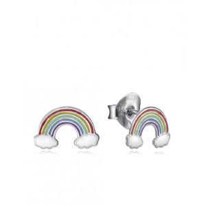 Pendientes niña arcoiris plata - 5114E000-19