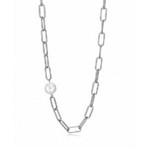 Collar eslabones acero perla - 1317C01000