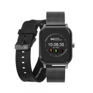 Pack reloj smart gris brazalete correa -