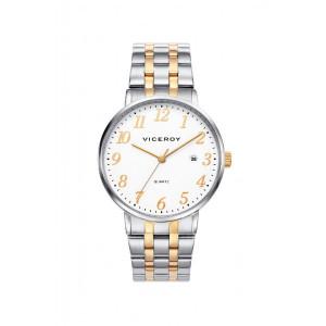 Reloj acero bicolor dorado hombre - 42235-94