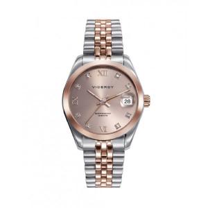 Reloj acero bicolor rosa mujer - 42414-93