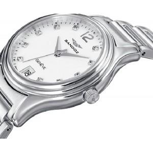 Reloj mujer Sandoz acero Swiss Made -