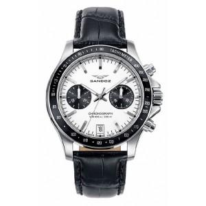 Reloj hombre Sandoz cronógrafo Swiss Made -